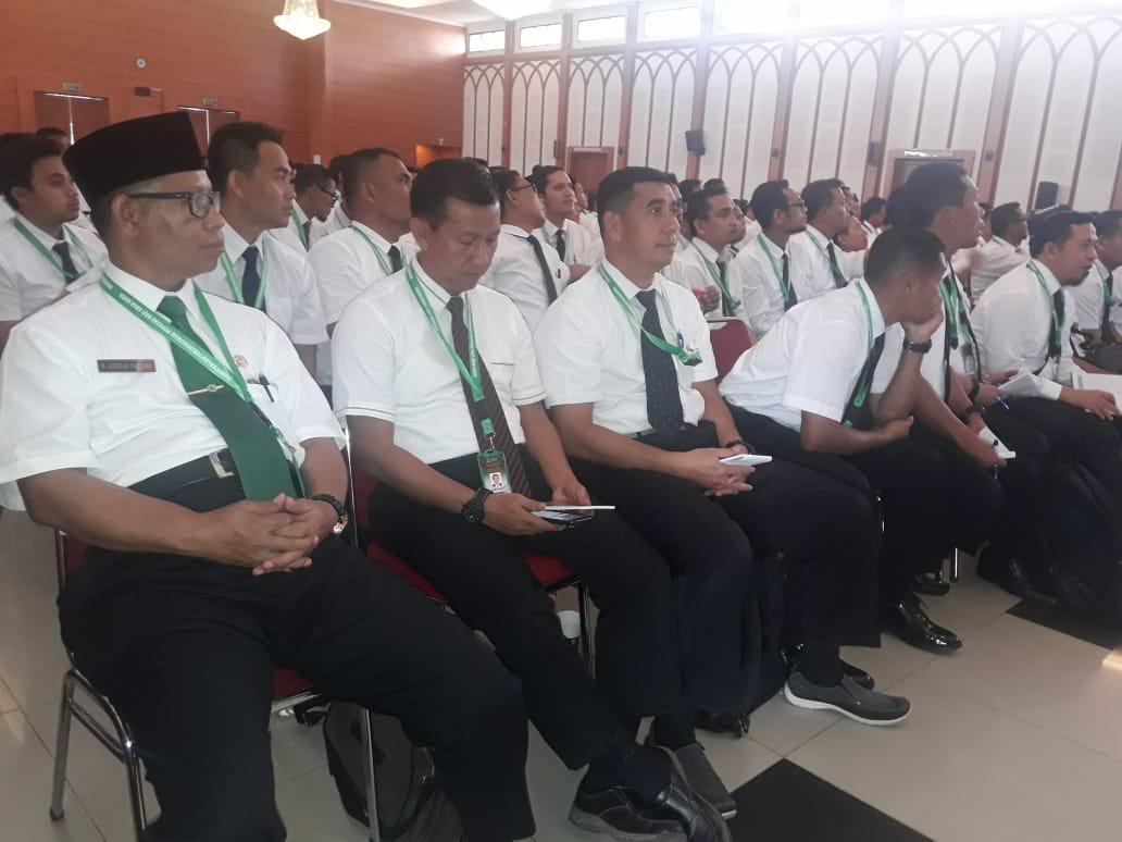 Mantan Kapenrem 141/Tp Ikuti Pembekalan PPIH 2019