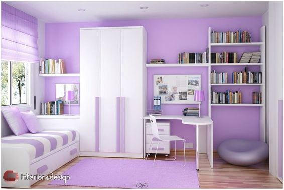 Colorful Teenagers Bedrooms 10