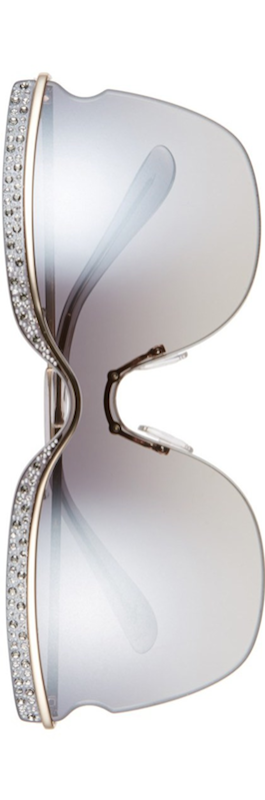 Jimmy Choo 67mm Retro Sunglasses