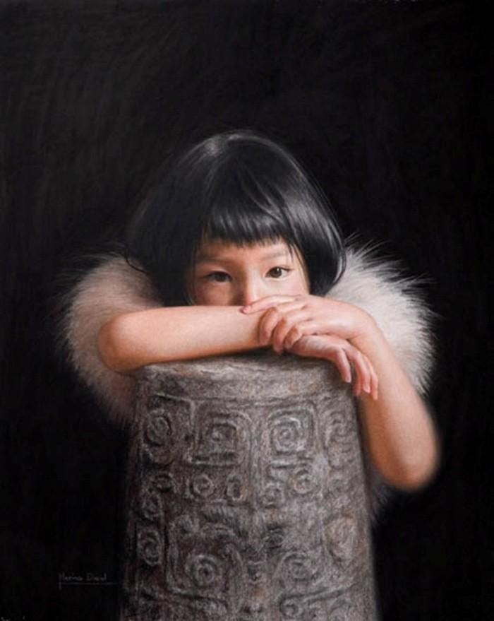 Современные французские художники. Marina Dieul 17