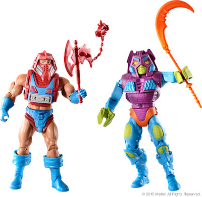 San Diego Comic-Con 2015 Exclusive Masters of the Universe Rotar vs Twistoid Box Set by Mattel