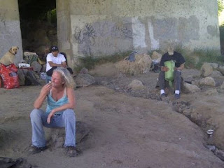 Homeless Under antelope Bridge - Red Bluff California