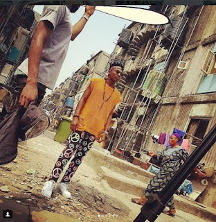 See Ejeba and Olamide TheMaking of Warri Video