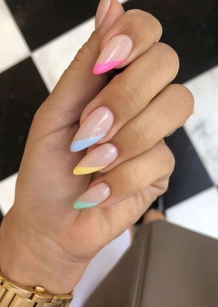 great summer nail art idea