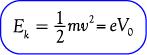 Rumus energi kinetik maksimum elektron