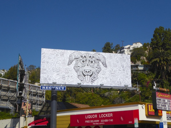 Mr Pickles teaser billboard