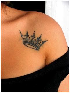 tato mahkota queen