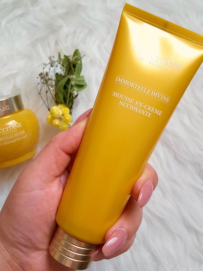 Review: L´OCCITANE - Immortelle Divine Double Cleansing - Reinigungsschaum