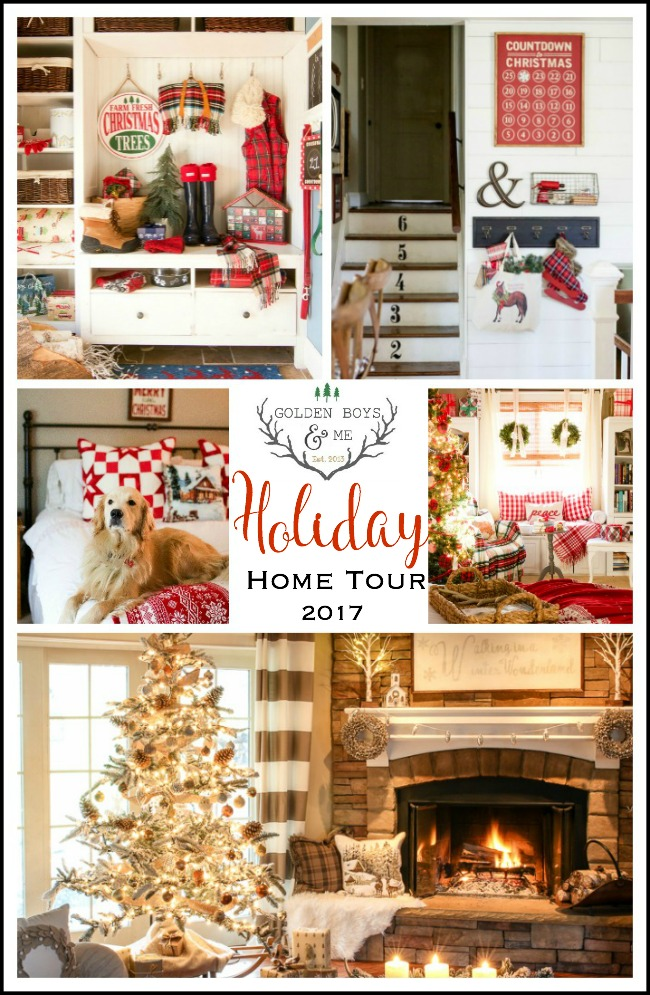 Golden Boys and Me Holiday Home Tour 2017