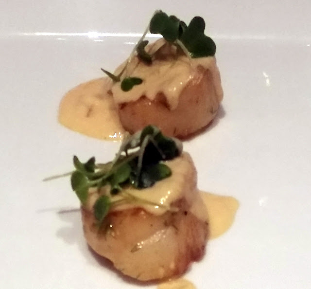 Scallop with cheese