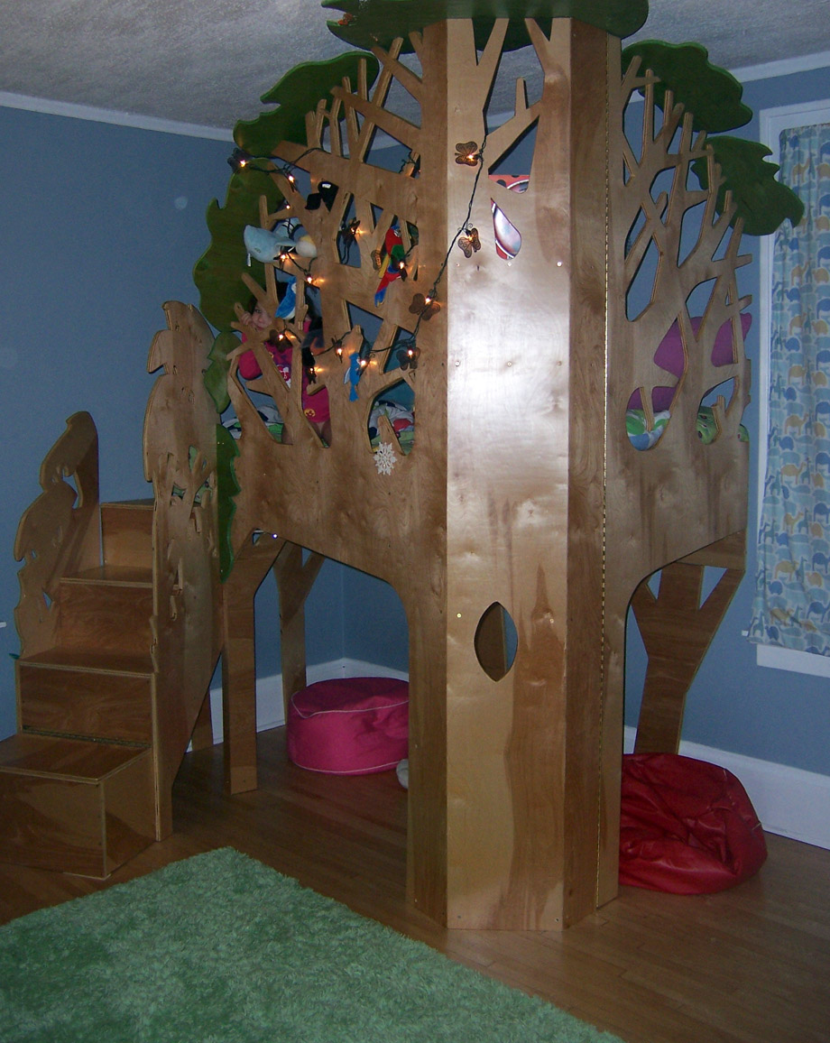 Domythic Bliss Tree Loft Bed