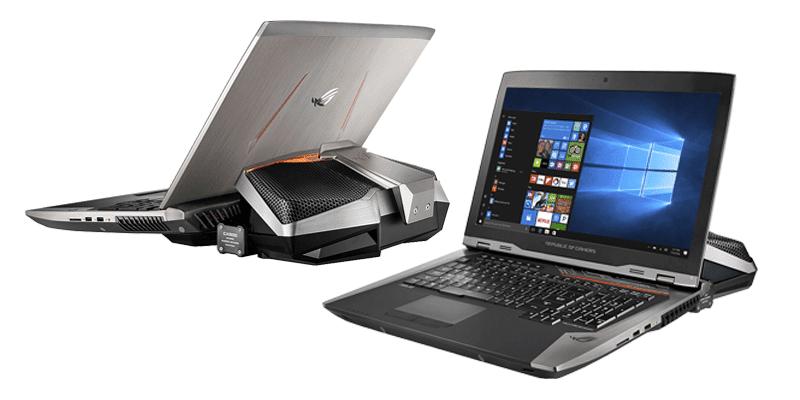ASUS ROG GX800 Notebook Gaming Berkelas, Notebooknya Para Sultan