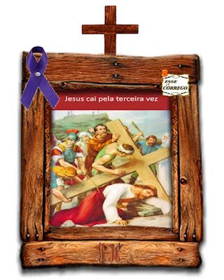 Caminho da Cruz - Jesus cai pela terceira vez