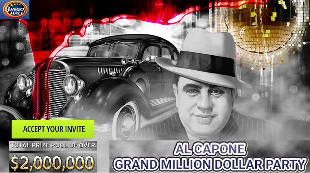 Al Capone Grand Million Dollar Party