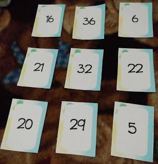 belajar matematika dengan permainan menggunakan flashcards angka