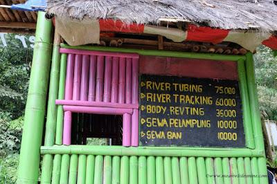 tarif wisata welo river Petungkriyono