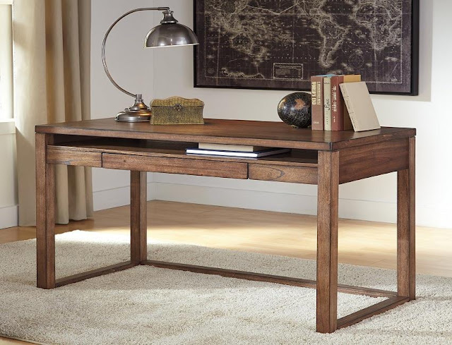 buying cheap wood home office desk brown design