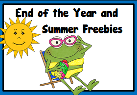 End of the Year and Summer Freebies!