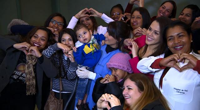 Guerreiro, Luiz Miguel deixa hospital e vai para casa em Pinhal pela primeira vez após 3 anos