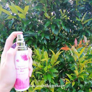 Review; Althea x Titi Kamal's Stay Fresh Body Sparkling Mist