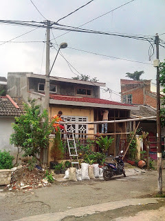 Bentuk akhir renovasi atap rumah