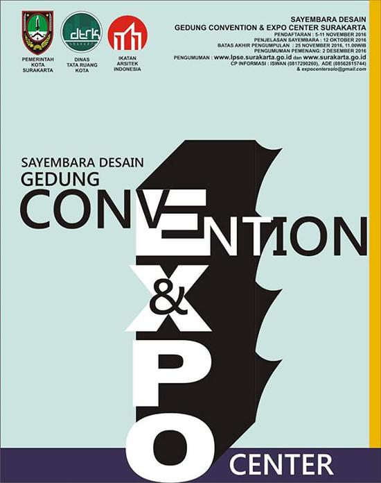 Sayembara desain terbaru gedung convention dan expo