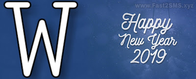 A to Z alphabet word photos for happy New year 2019 |My name fast word Happy new year Photos|Happy New Year Bangla sms| By Fast2SMS