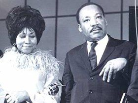 Aretha Franklin Martin Luther King