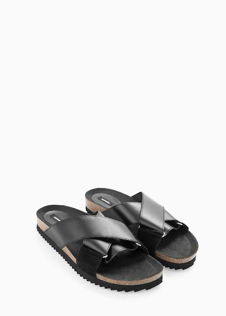 Mango Leather Bio Sandals