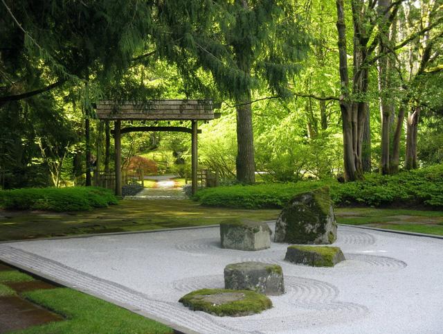 Khu vườn thư giãn tại Ohara Villa