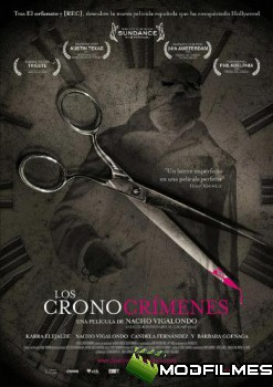Capa do Filme Crimes Temporais