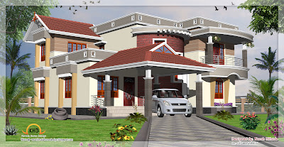 Home Elevation - 258 Sq M (2775 Sq. Ft) - December 2011