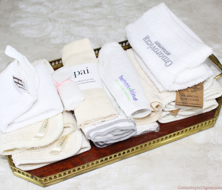 The best flannel and muslin wash cloths for cleansing your face.