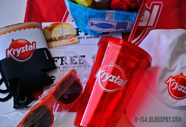Krystal Prize Pack, New Menu Items