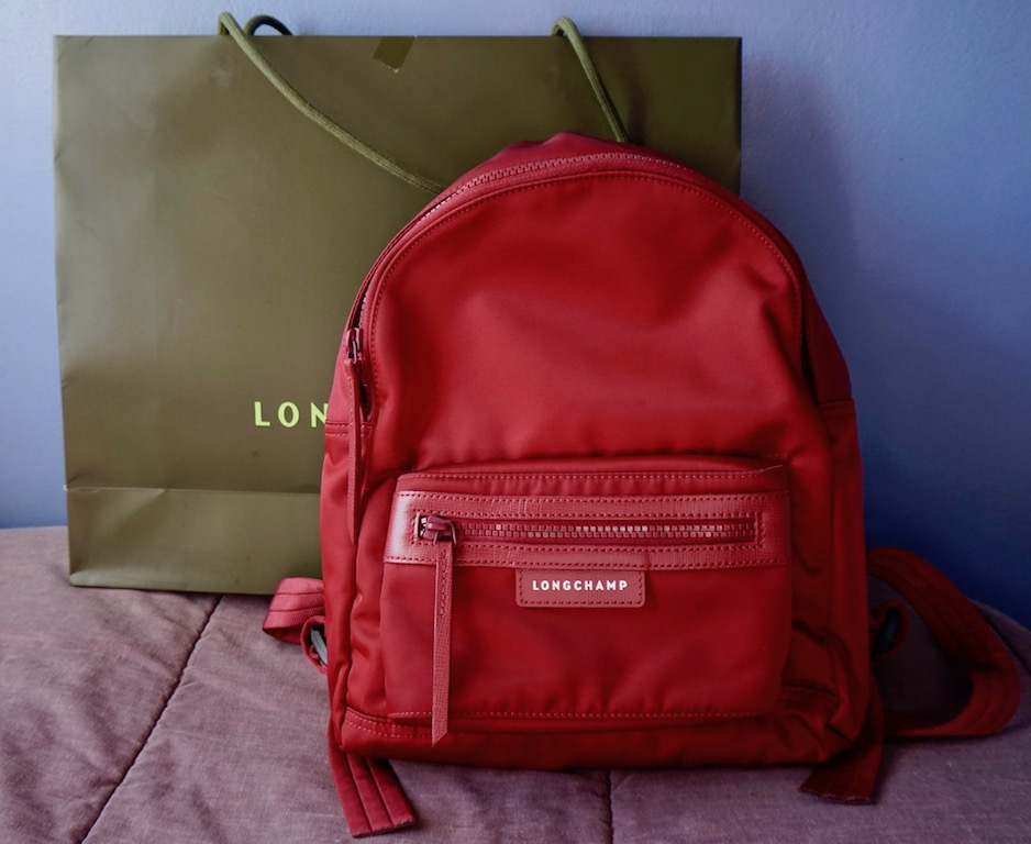 e22c4bacb6e8 BAG REVIEW  Longchamp Back Pack S Le Pliage Neo + Spot A Fake Longchamp Le  Pliage Neo