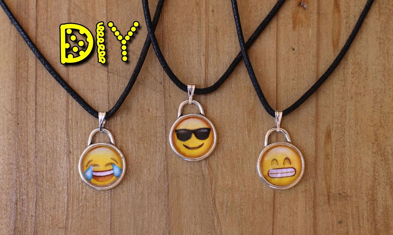 Diy Emoji Crafts How To Make Emoji Necklaces Diy Emoji