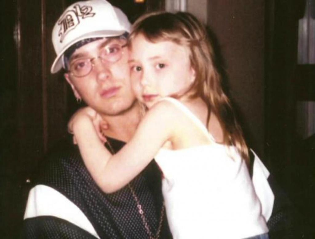 Эминем с дочерью