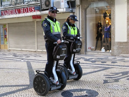 Portuguese Police on Segways