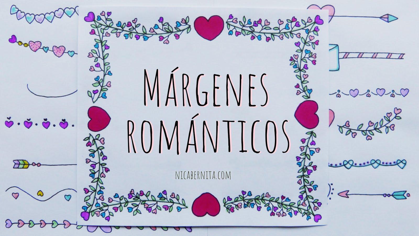 Mas De 30 Ideas De Margenes Para Decorar Cuadernos Y Cartas De Amor - Imagenes-para-decorar