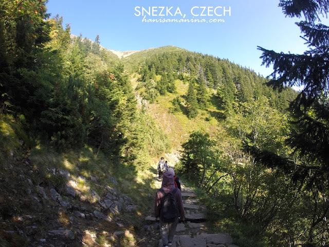 Sněžka, Czech
