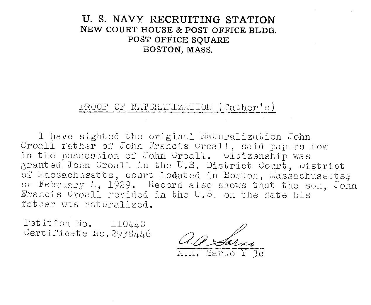 how to get military discharge papers for deceased