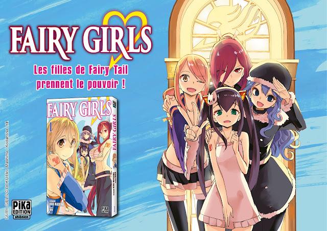 Fairy Girls, Manga, Actu Manga, Pika Édition, Boku, Hiro Mashima,