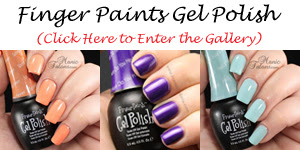 FingerPaints Gel Polish Swatch Gallery