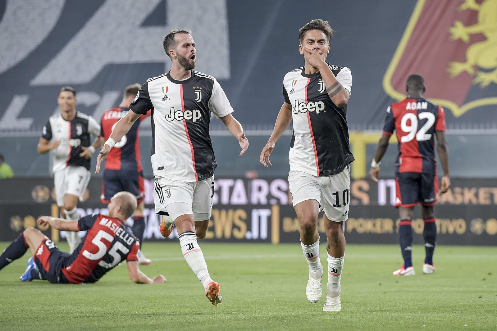 Dybala encaminó a Juventus a la sexta victoria consecutiva en la Serie A