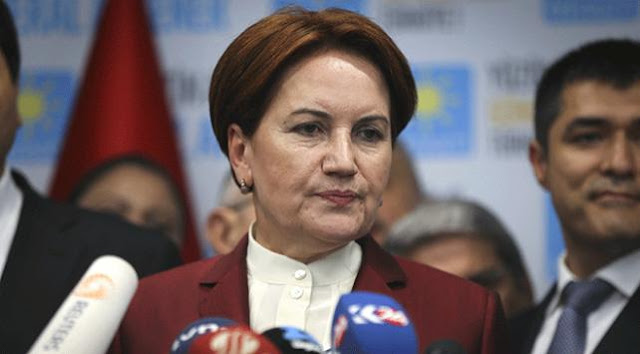 MHP'den İyi Parti Genel Başkanı Akşener'e suç duyurusu.