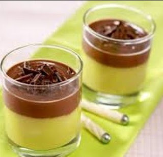 Puding Mangga Choclat