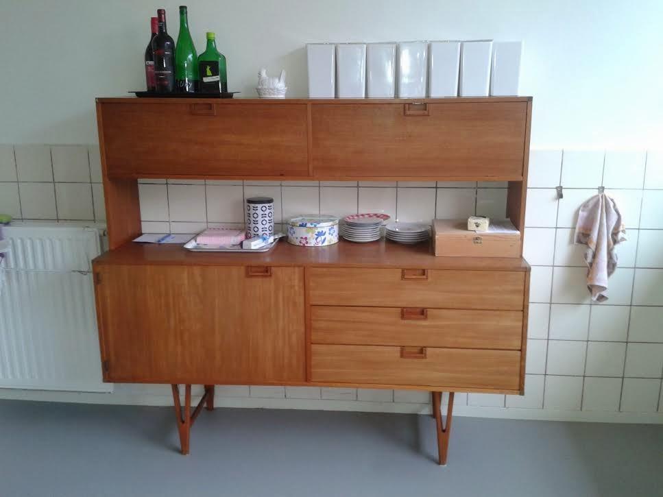 ZieZoRetro   Retrospectief op design meubels van toen  Fristho Modular dressoir buffetkast