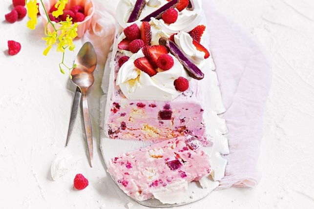 Turkish Delight Ice-Cream Cake Recipe