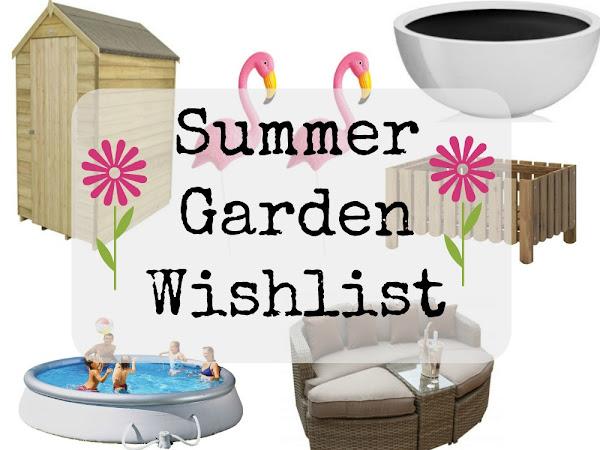 Summer Garden Wishlist