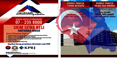 Permohonan Skim Sewa Beli Hartanah Johor 2019 (Jauhar Prihatin)
